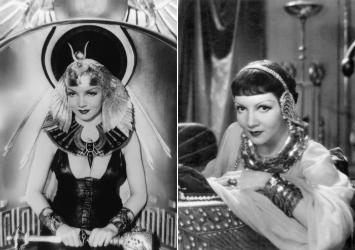 Клодетт Кольбер в фильме *Клеопатра*, 1934