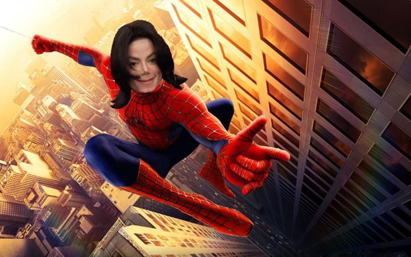 7. Он хотел стать Человеком-пауком интересное, майкл джексон, факты