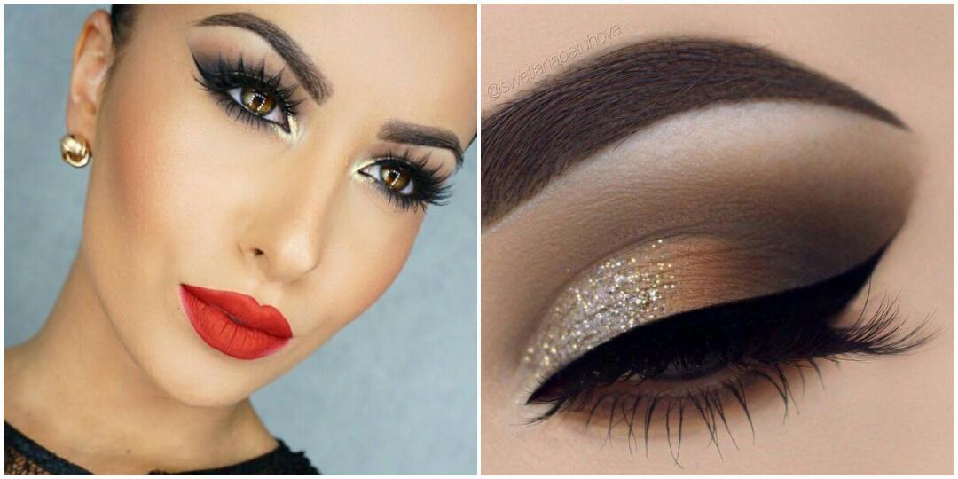 Как самому себе сделать вечерний макияж