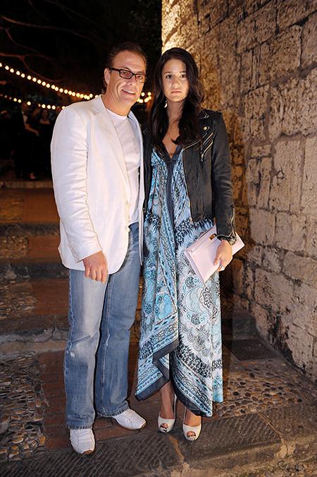 Бьянка уже успела сняться в нескольких фильмах своего знаменитого отца ван дамм, дочь, отец
