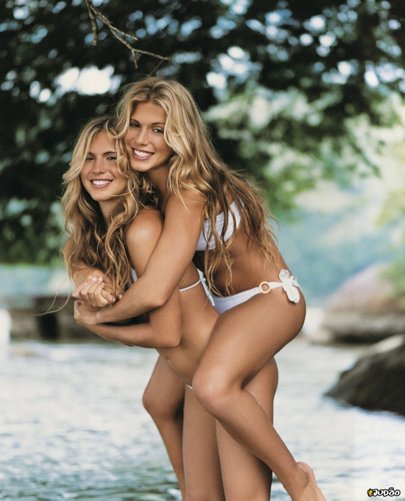 11. Сестры Ферес - Бразилия близнецы, двойняшки, красотки