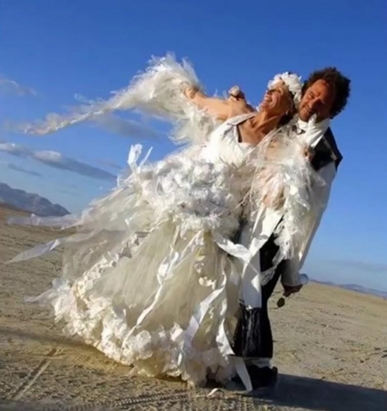 7. На крыльях любви невесты, свадебное платье