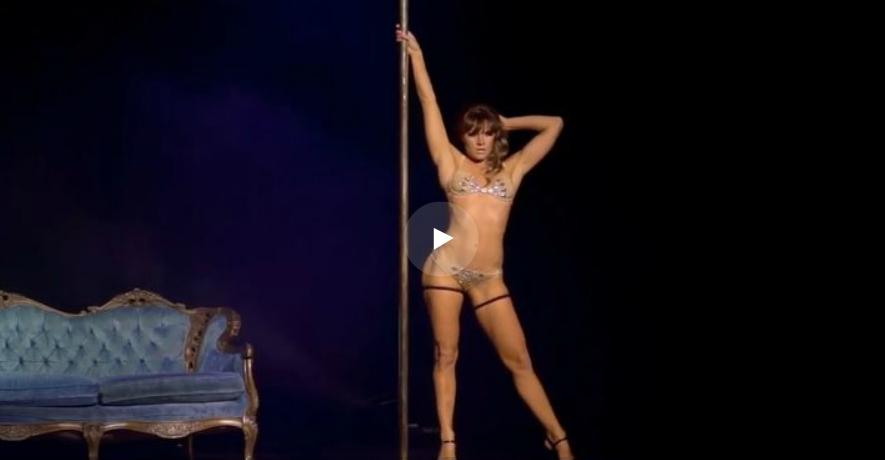 Видео танец на шесте сексуальный