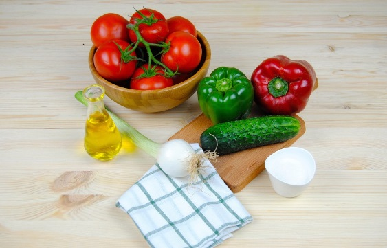ингредиенты супа гаспачо