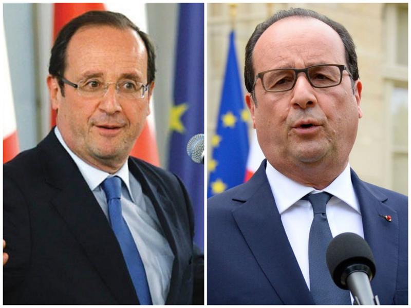 Франсуа Олланд. Президент Франции. Фото: 2012 - 2016 годы. лица, нервная работа, президенты