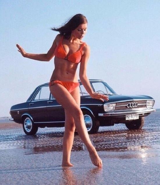 Реклама «Audi», 1970-е.