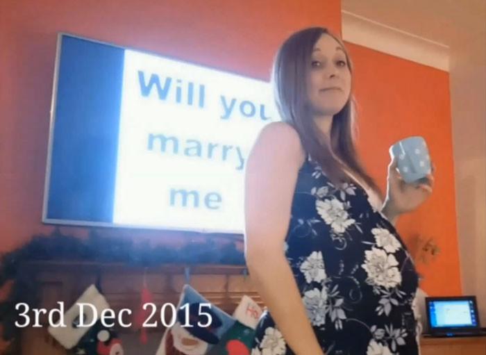 Мужчина запланировал сделать предложение в канун Рождества предложение, сюрприз