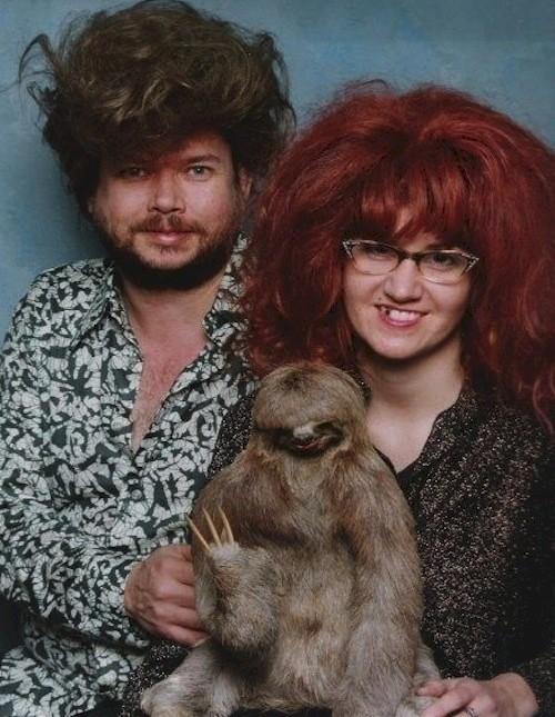 Папа, мама и малыш прикол, семейные фотографии, юмор
