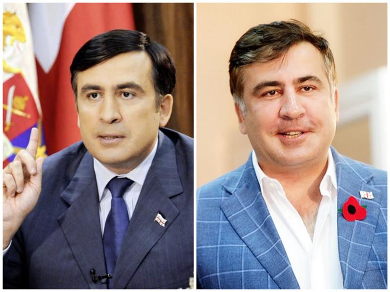 Михаил Саакашвили. Бывший президент Грузии. Фото: 2008 - 2016 годы. лица, нервная работа, президенты