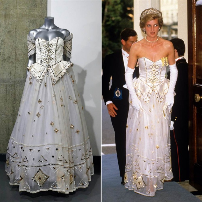 4. Она выставила на аукцион 79 своих платьев королевская семья, принцесса диана, светская жизнь, факты