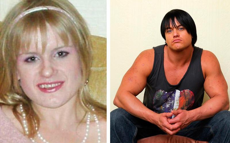 Кэндис Армстронг до стероидов и после бодибилдерши, мужеподобные женщины, спортсменки, стероиды