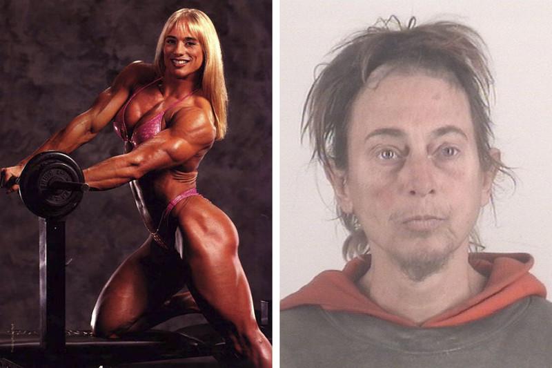 Дэниз Рутковски бодибилдерши, мужеподобные женщины, спортсменки, стероиды