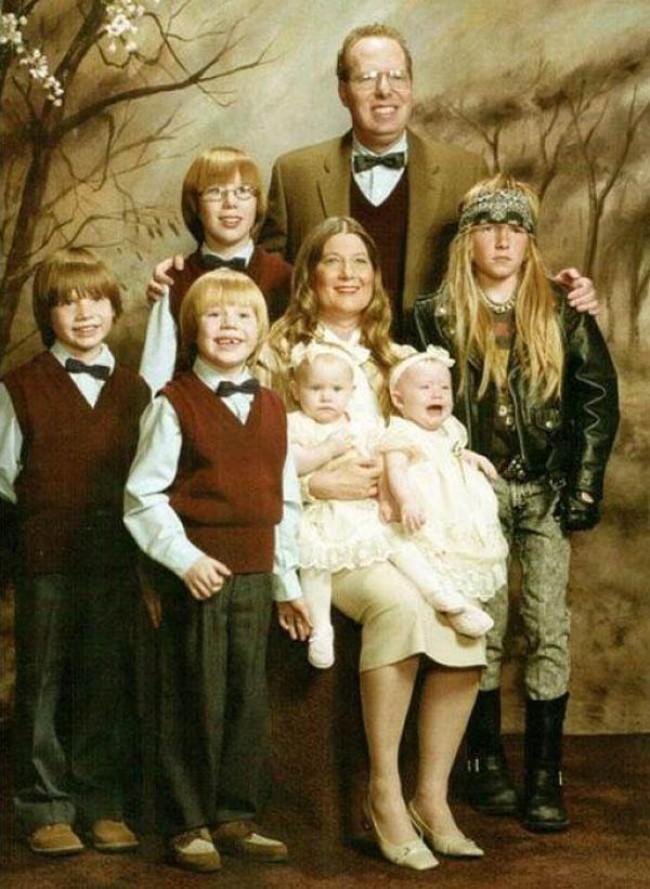 Будь самим собой прикол, семейные фотографии, юмор