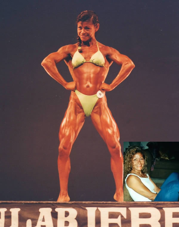 Мими д'Аттомо бодибилдерши, мужеподобные женщины, спортсменки, стероиды