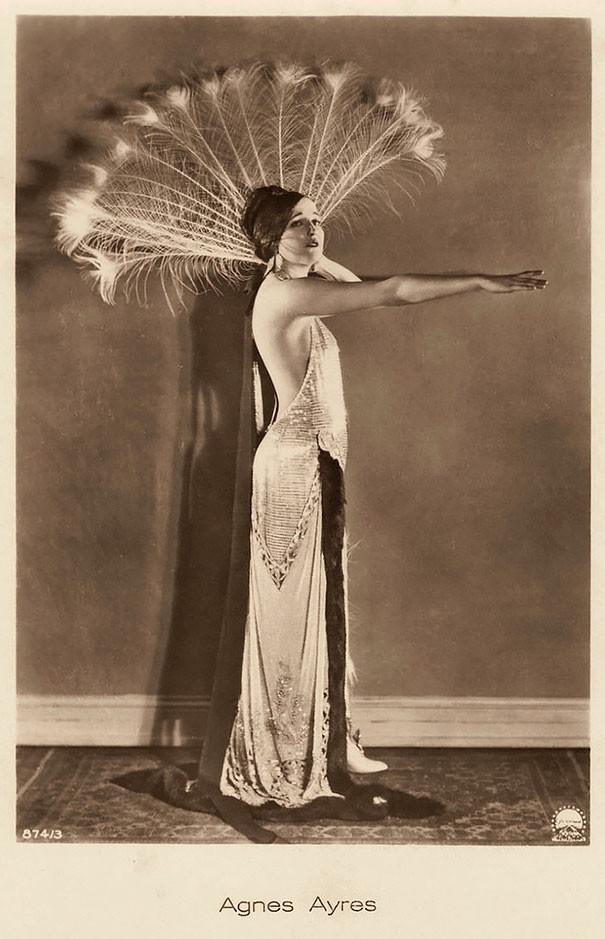 Агнес Эйрс, Американская актриса эпохи немых фильмов винтаж, женщины, красота, открытки, фото