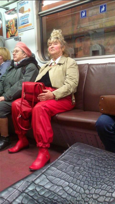 22. люди, метро, мода, настроение