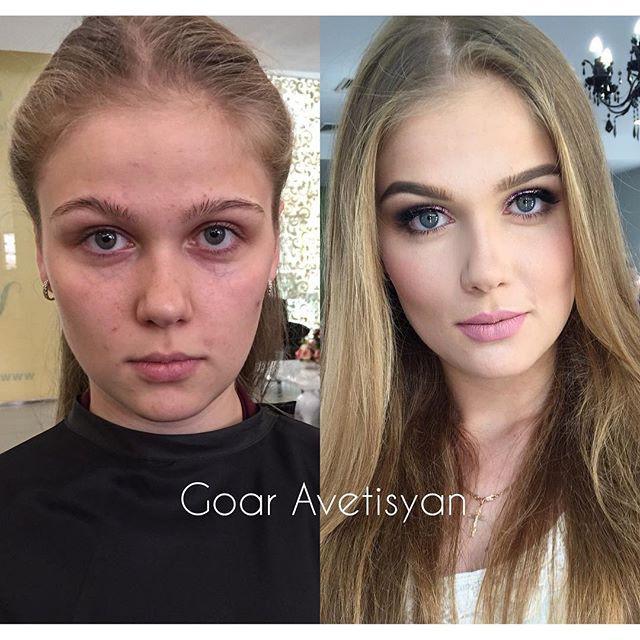 30 преображений после макияжа, которым позавидуют даже пластические хирурги девушки, до и после макияжа, красота, макияж