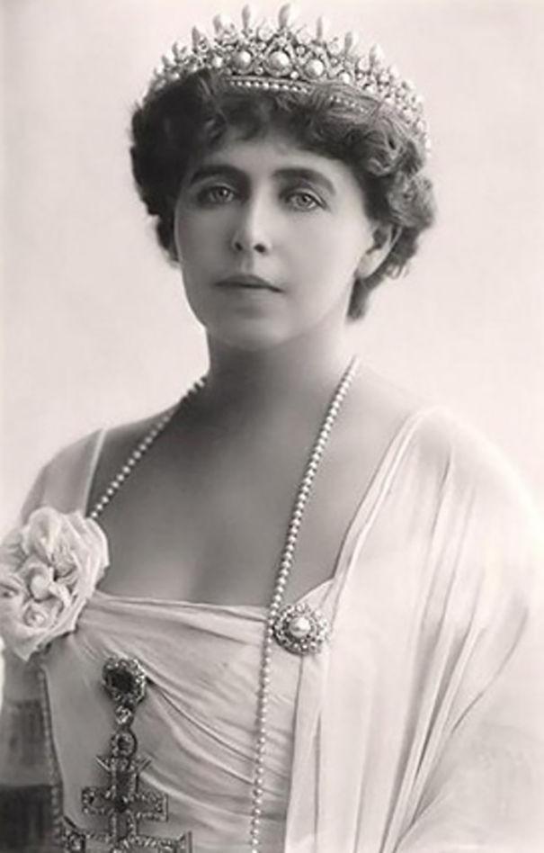 Королева Румынии Мария винтаж, женщины, красота, открытки, фото
