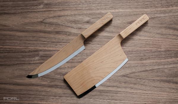 Ножик из дерева фото