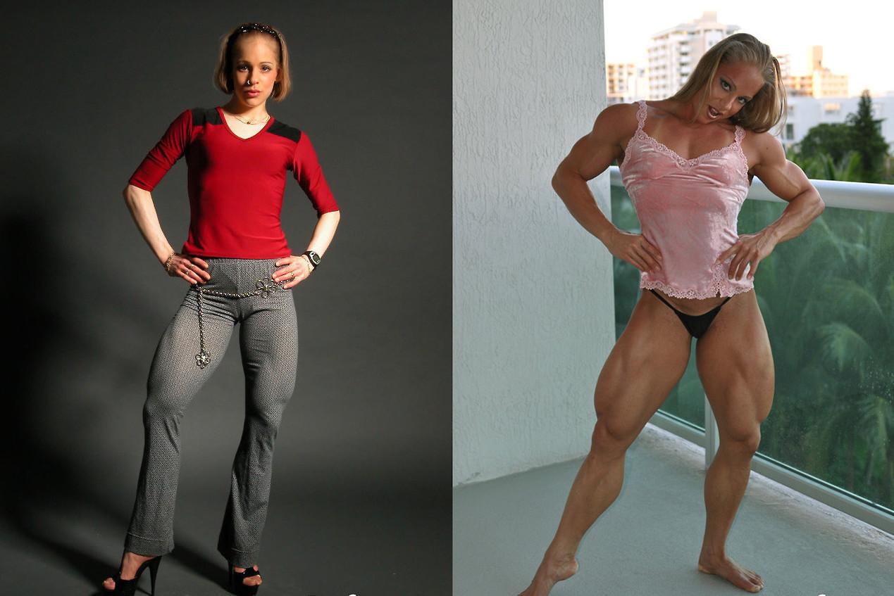 Моника Моллика: до и после бодибилдерши, мужеподобные женщины, спортсменки, стероиды