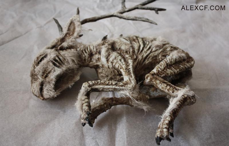 Lepus temperamentalus (Рогатый заяц). интересное, лондон, непознанное, томас мерлин