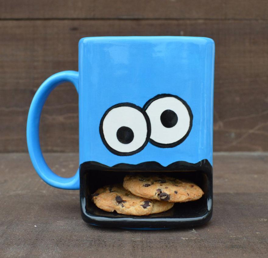 Чашка для подогрева печенья