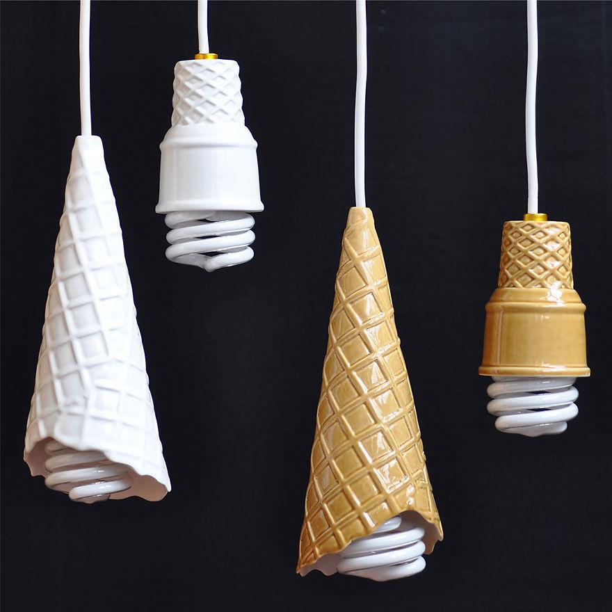 Лампочки-мороженое