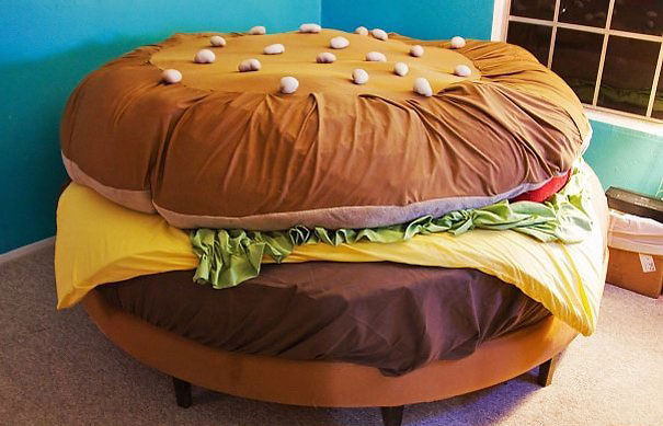 Кровать-гамбургер