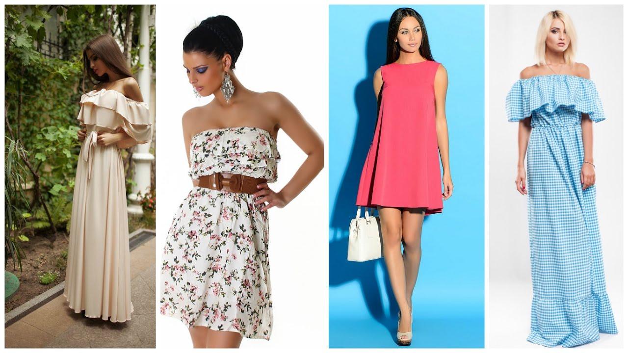 Платья и сарафаны на лето