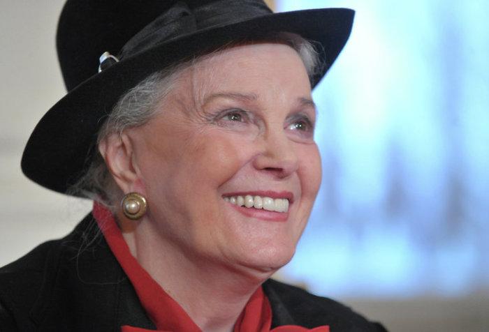 Женщина, сохранившая красоту и обаяние даже в таком солидном возрасте. | Фото: samovaroff.net.