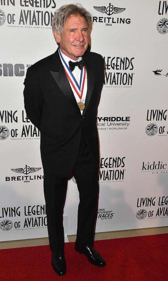 9. Харрисон Форд, 73 года возраст, знаменитость, сексуальность