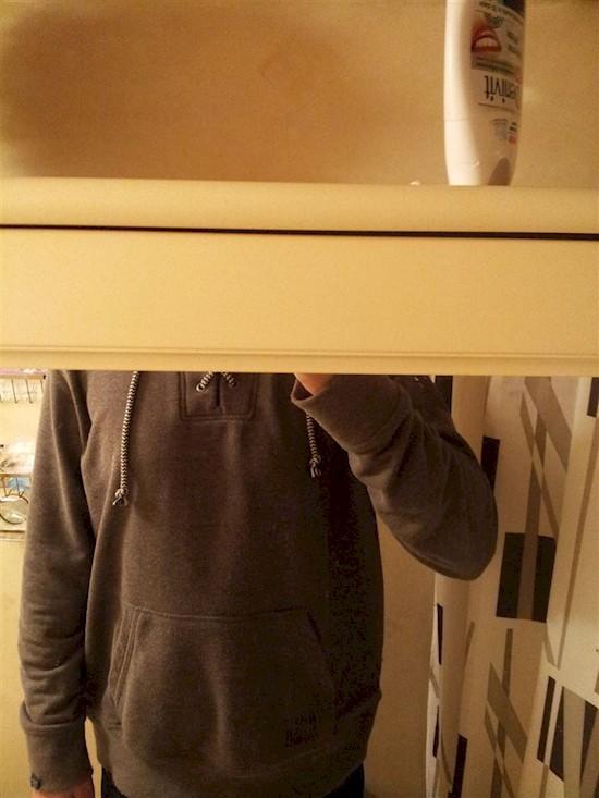 15. Ваше идеальное селфи в зеркале высокие люди, прикол, проблемы, юмор