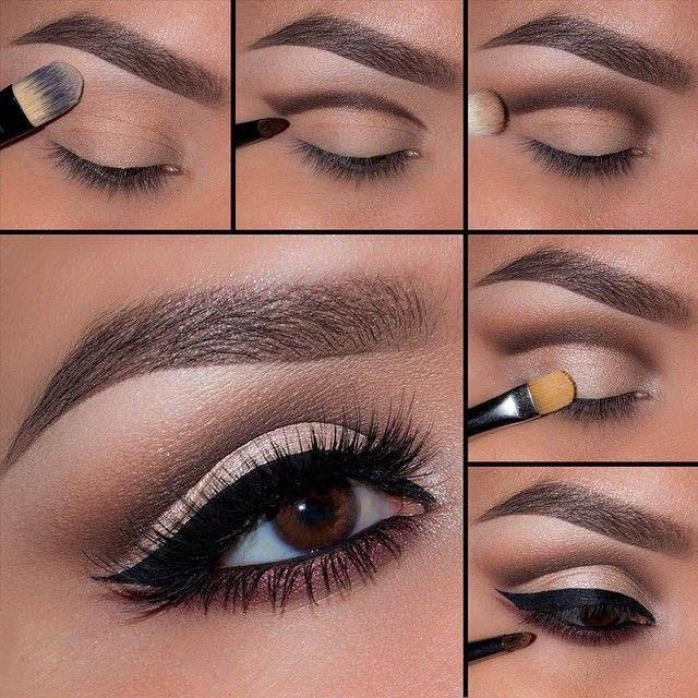 Как сделать макияж в домашних условиях себе