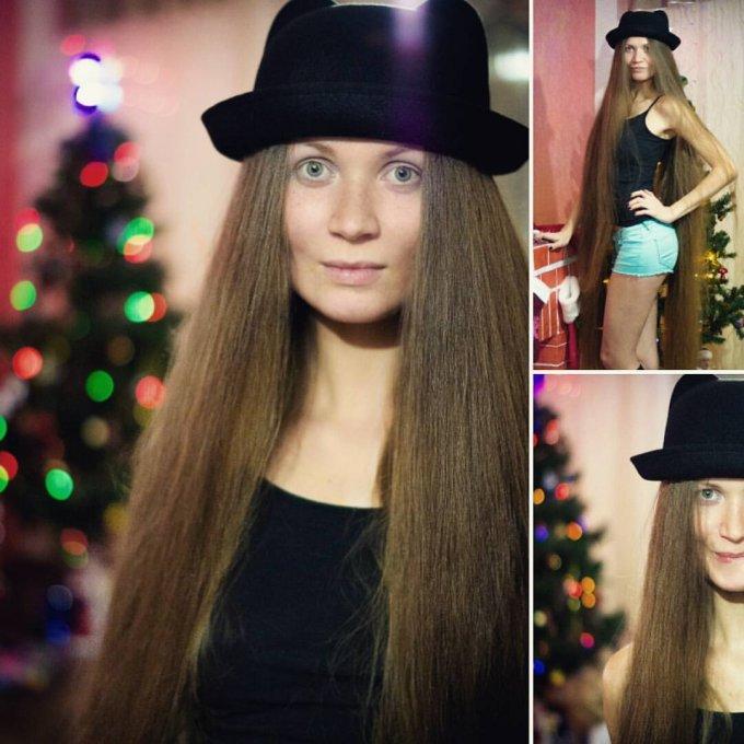 Что выйдет, если не стричься 13 лет волосы, рапунцель