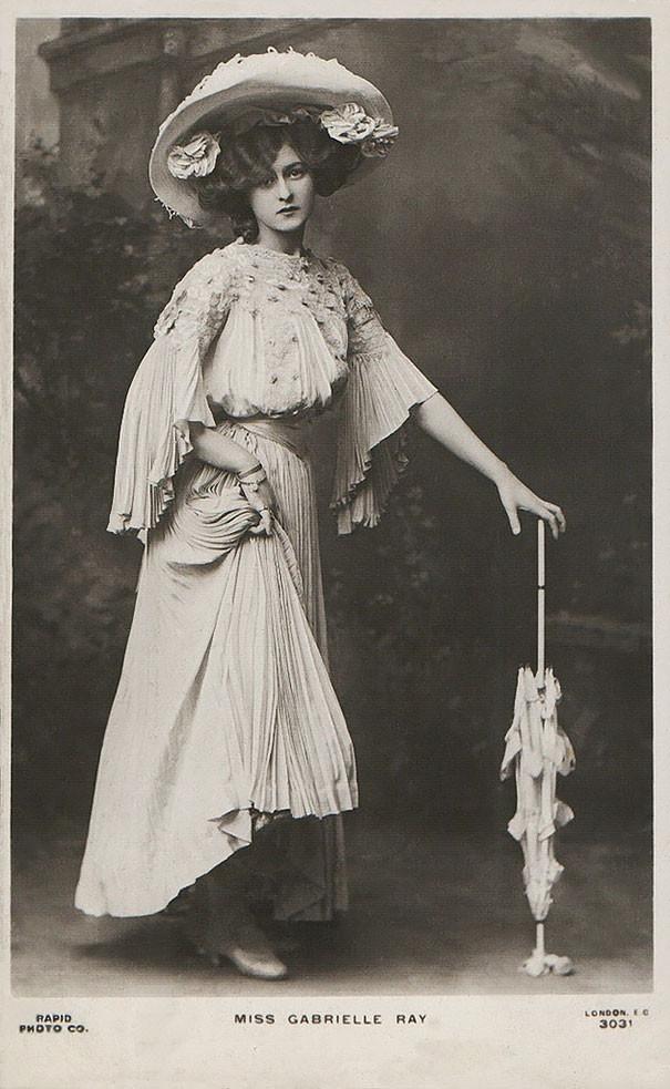 Габриэль Рэй, английская актриса, танцовщица и певица винтаж, женщины, красота, открытки, фото